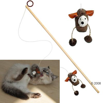 kattenhengel nature cat toy     muis