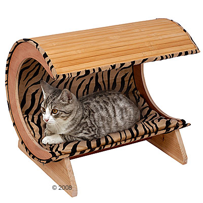 kattenbank kitty bamboo     l 52 x b 38 x h 43 cm