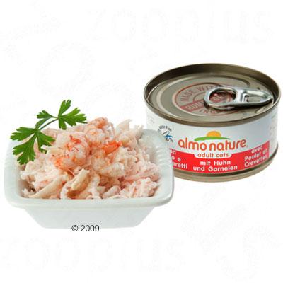 almo nature 6 x 70 g      atlantische oceaan tonijn