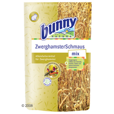 bunny dwerghamster smul mix     650 g