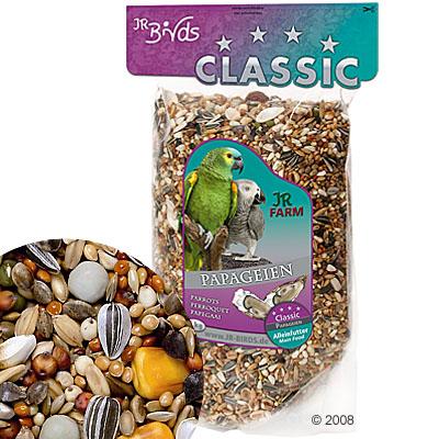 jr birds classic voer voor papegaaien     4 kg