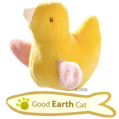 hunter kattenspeelgoed good earth vogel     ongeveer 9 cm