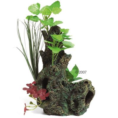 Wortel met plant van zeide      deco wortel van kantoor artikelen tip.