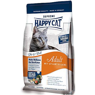 happy cat fit & well adult atlantische zalm     1 kg