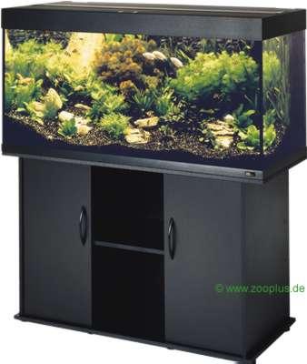 juwel aquarium / kast combinatie rio 300     zwart