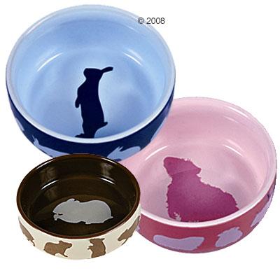 Aardewerk nap voor knaagdieren     kaninchen 250 ml, Ø 11 cm van kantoor artikelen tip.