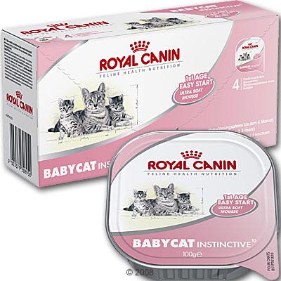 royal canin babycat instinctief     4 x 100 g