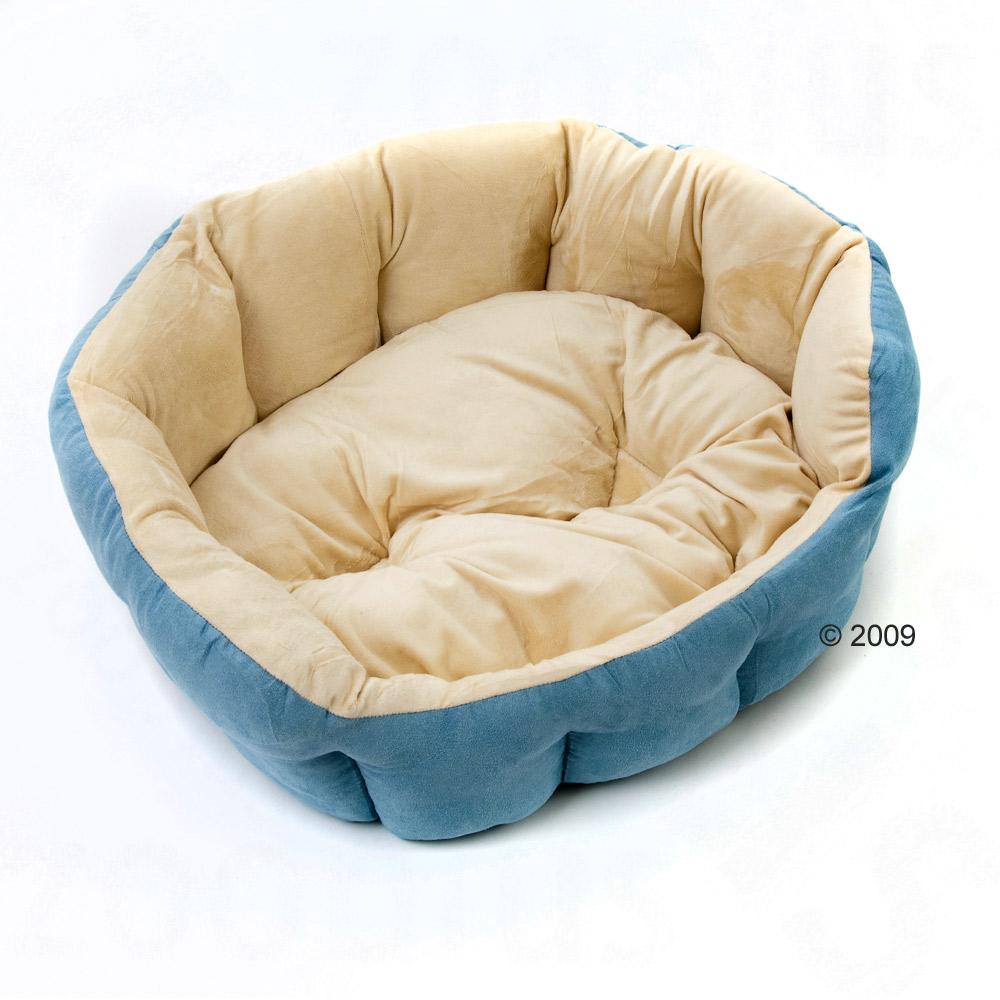 kattenbed cozy azur     l 50 x b 40 x h 20 cm