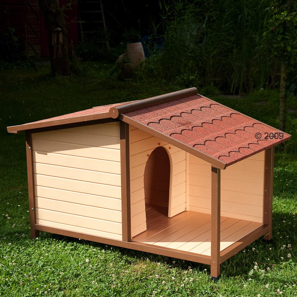 hondenhok spike bungalow     maat l: l 132 x b 85 x h 86 cm