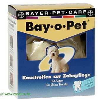 bay o pet tandverzorging kauwreepjes      voor grote honden
