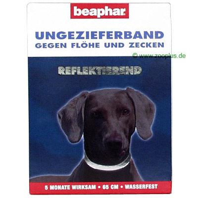 reflecterend ongediertehalsband voor honden 65 cm     65 cm
