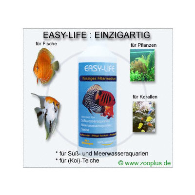 easy life vloeibaar filtermedium      250 ml