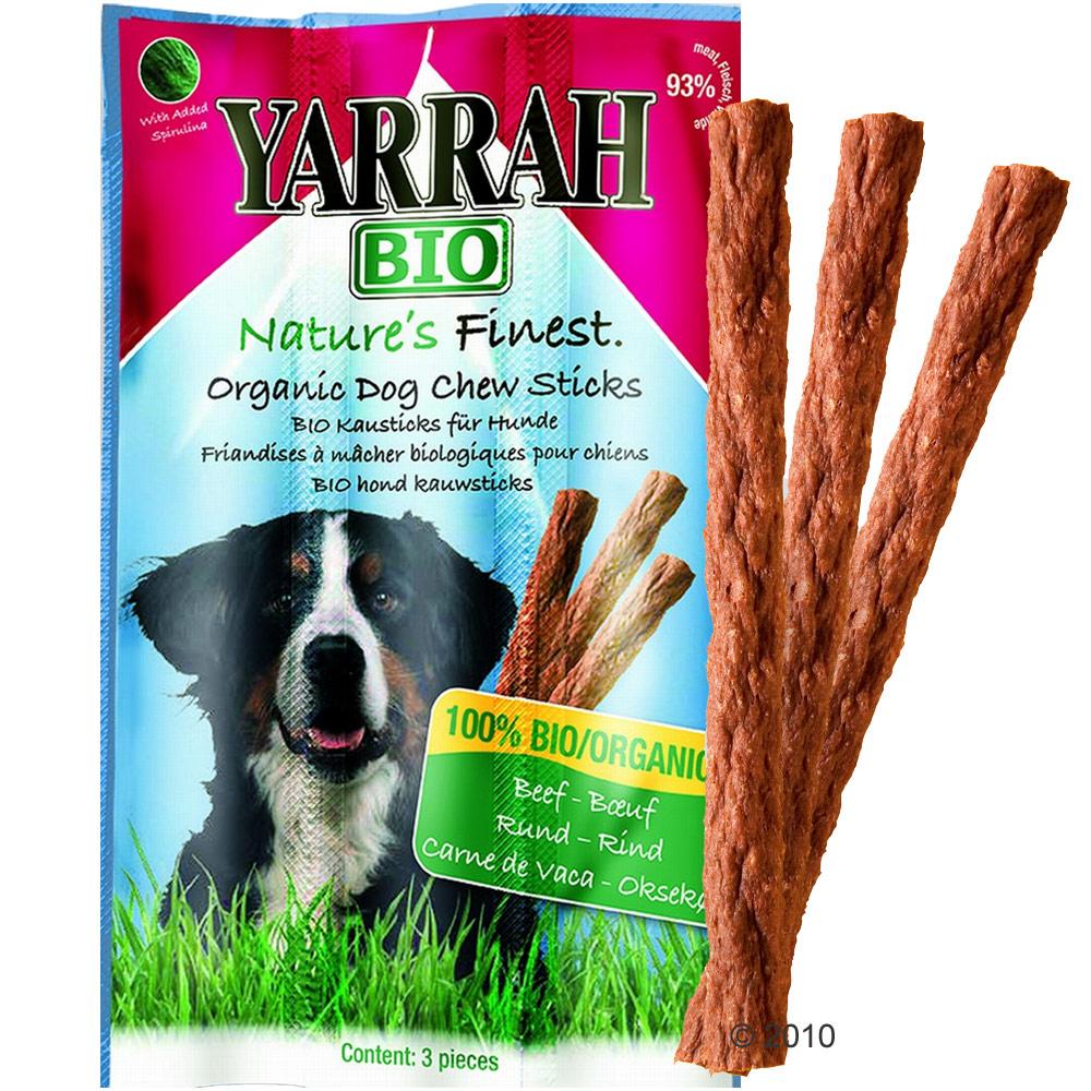Yarrah bio honden kauwsticks     3 x 3 stuks van kantoor artikelen tip.