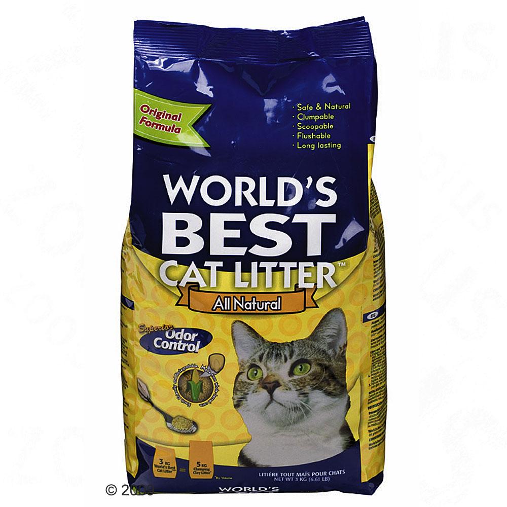 World's best cat litter kattenbakvulling     15 kg van kantoor artikelen tip.