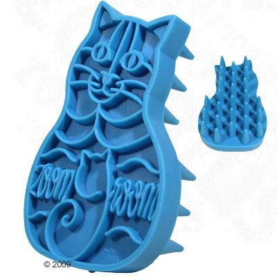 kong cat massageborstel zoom groom     ca. 11,4 x 7 x 3  cm
