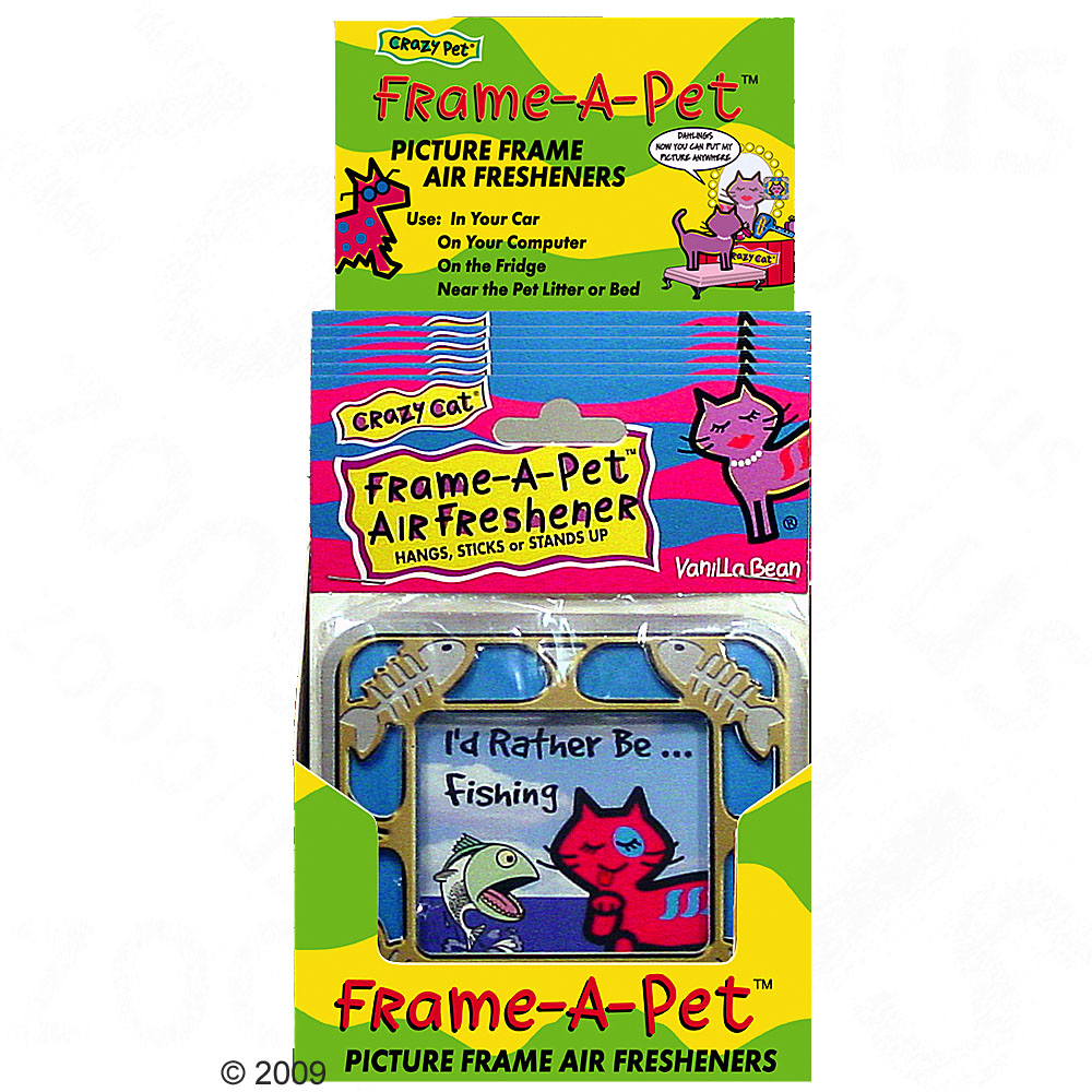 2 x frame a pet luchtverfrisser     crazy dog  cinnamon stick