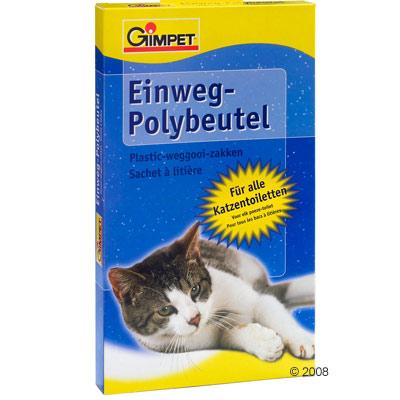 gimpet polyzak voor kattenbak     max. toilettenmaat: l 55 x b 45 x h 12 cm