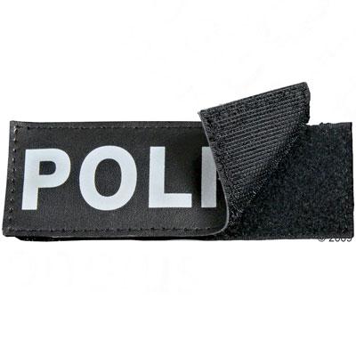 2 klittenband stickers maat l/ (13 x 5 cm)     bodyguard