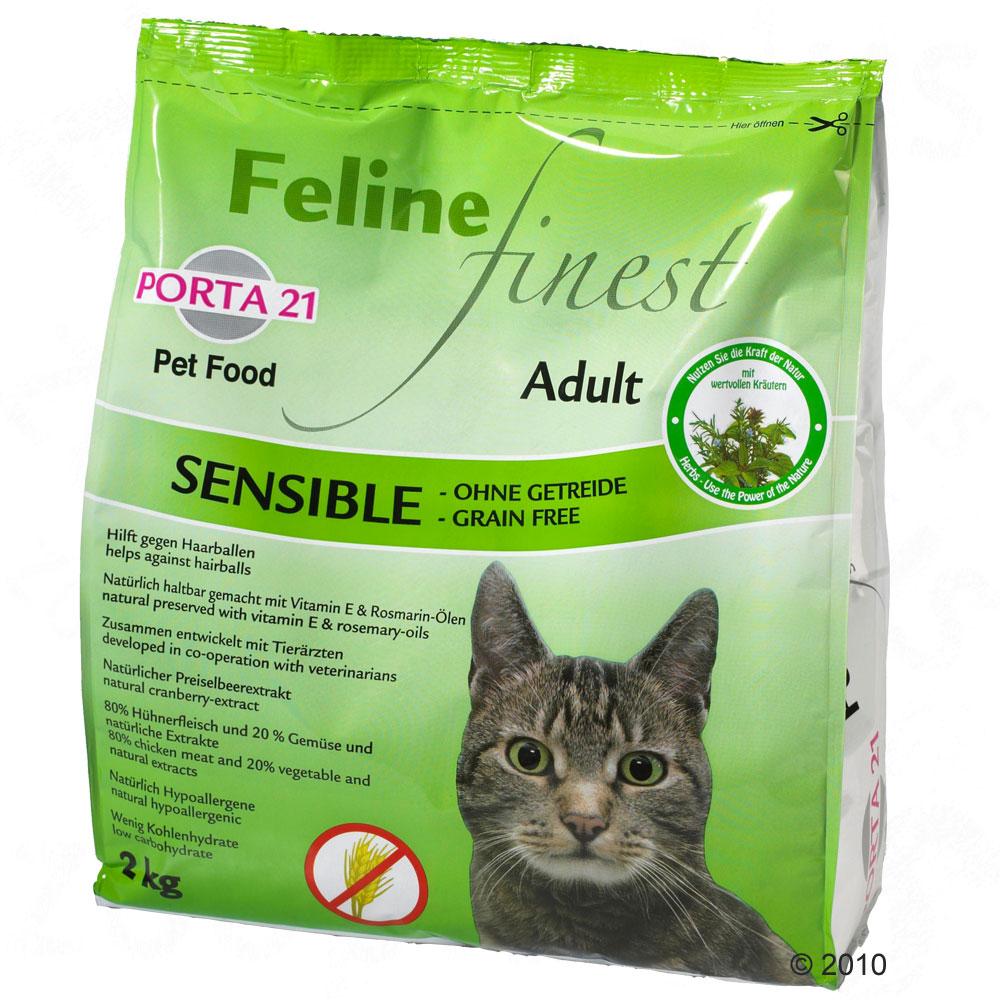 porta 21 feline finest sensible   grain free     10 kg
