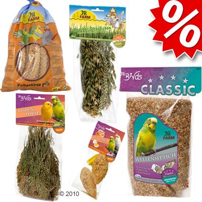 jr farm voorjaarspakket voor grasparkieten     1 pakket