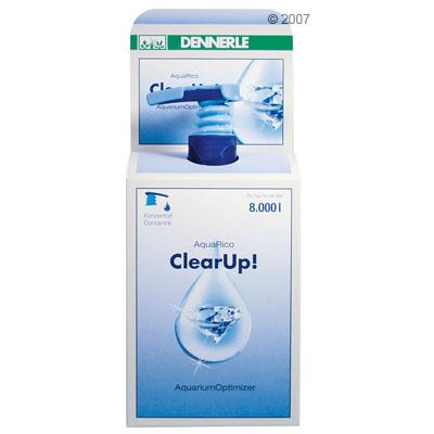 dennerle aquarico clearup!     100 ml voor 3.200 l aquariumwater