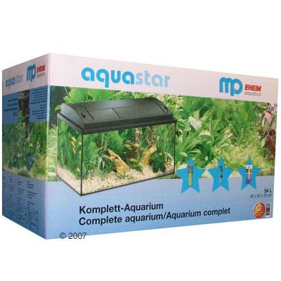 mp aquastar 60 aquariumset     kast met deur, 60/70 sb, zwart, zonder aquarium