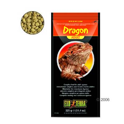 hagen exo terra dragon adult reptielenvoer     325 g