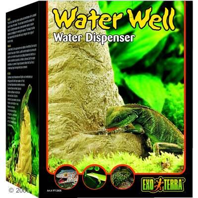hagen exo terra water well waterbronnen voor reptielen     afmeting:  l 12 x b 9,5 x h 17,5 cm