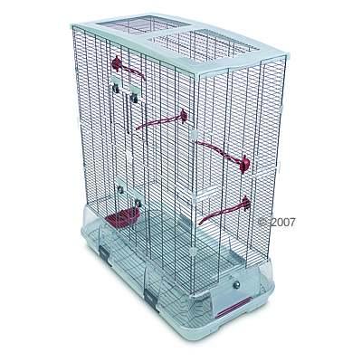 hagen vision ii model l02,  vogelhuis groot, hoog     accessoires terracotta, traliesafstand: ca. 10 mm