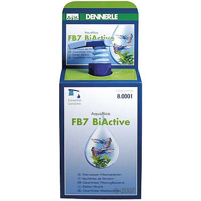 dennerle fb7 biactive aquarico waterverzorging     100 ml voor 3.200 liter aquariumwater