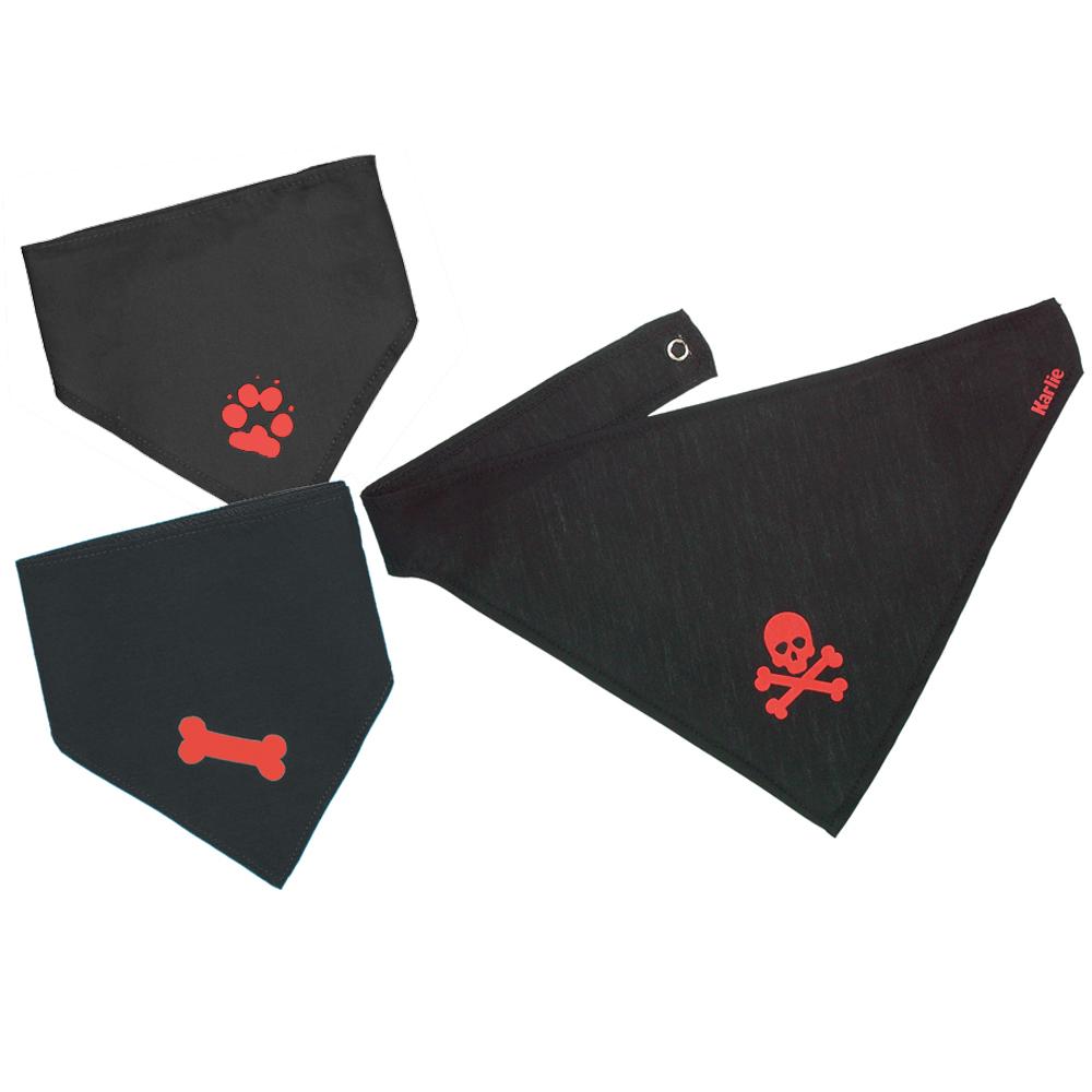 hondenhalsdoek met motief     40 tot 50 cm halsomvang