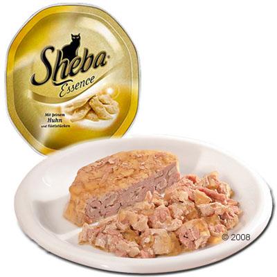 sheba essence 6 x 85 g     gesmoorde filetrepen met tonijn