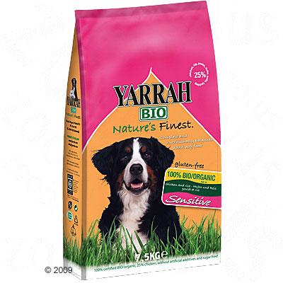 Yarrah bio sensitive hondenvoer met kip & rijst     7,5 kg van kantoor artikelen tip.
