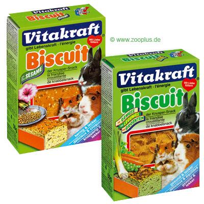 Vitakraft biscuit voor knaagdieren, 4 stuk     met groente van kantoor artikelen tip.