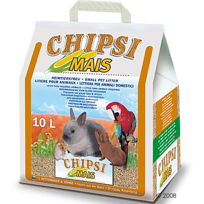chipsi maïs  granulaat      10 l (ca. 4,5 kg)
