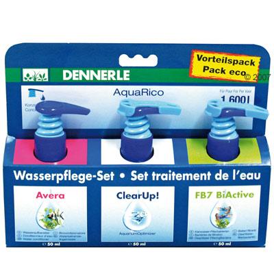 dennerle aquarico waterverzorging set     3 x 50 ml