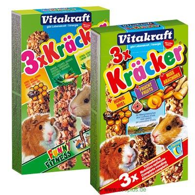 Vitakraft cavia biscuits multipack    3 x 3er combi (honing, vruchten, noten) van kantoor artikelen tip.
