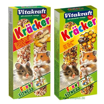 Vitakraft hamster biscuits multipack    3 x 3er combi (multi vitamin, honing, vruchten) van kantoor artikelen tip.