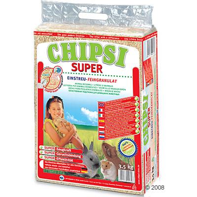 chipsi super knaagdierenstrooisel      3,5 kg