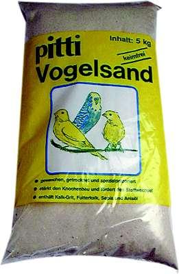 pitti vogelzand fijn     25 kg zak