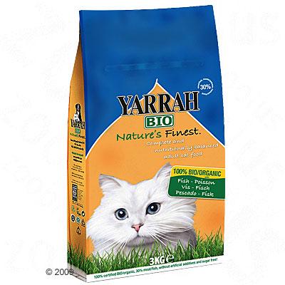 yarrah bio kattenvoer met vis     10 kg