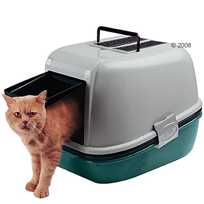 ferplast magix kattenbak      blauw