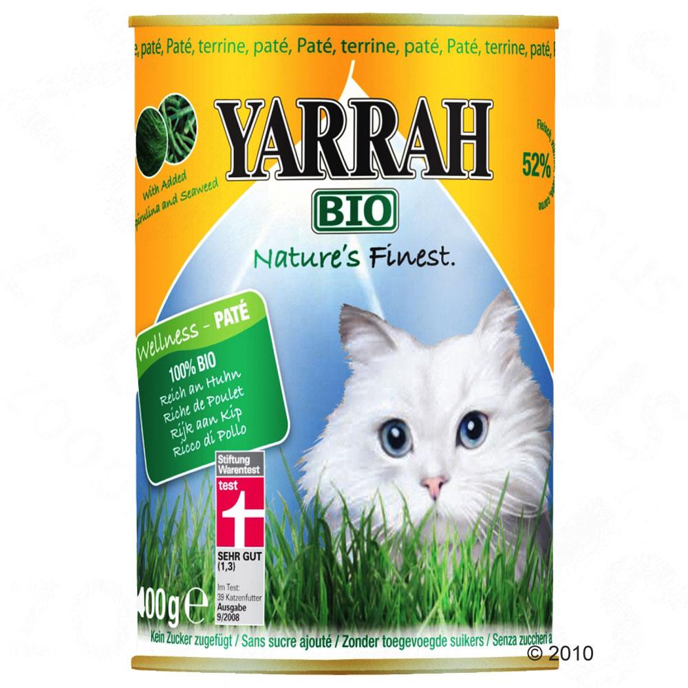 yarrah bio dinner paté 6 x 400 g      kip