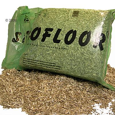 bio hennep strooisel siccofloor     150 l (ca. 14,8 kg)