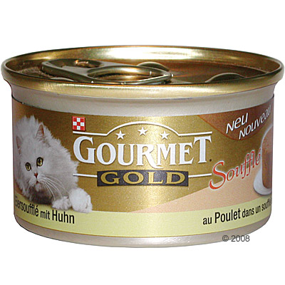 megapack gourmet gold eiersoufflé 24 x 85 g     kip