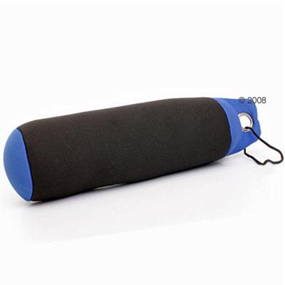 Zwem dummy zwart/blauw     ca. 25 cm van kantoor artikelen tip.