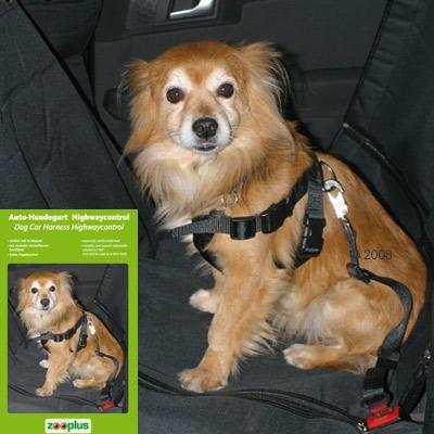 auto hondengordel highwaycontrol     maat  xl: borstomvang 80   110 cm