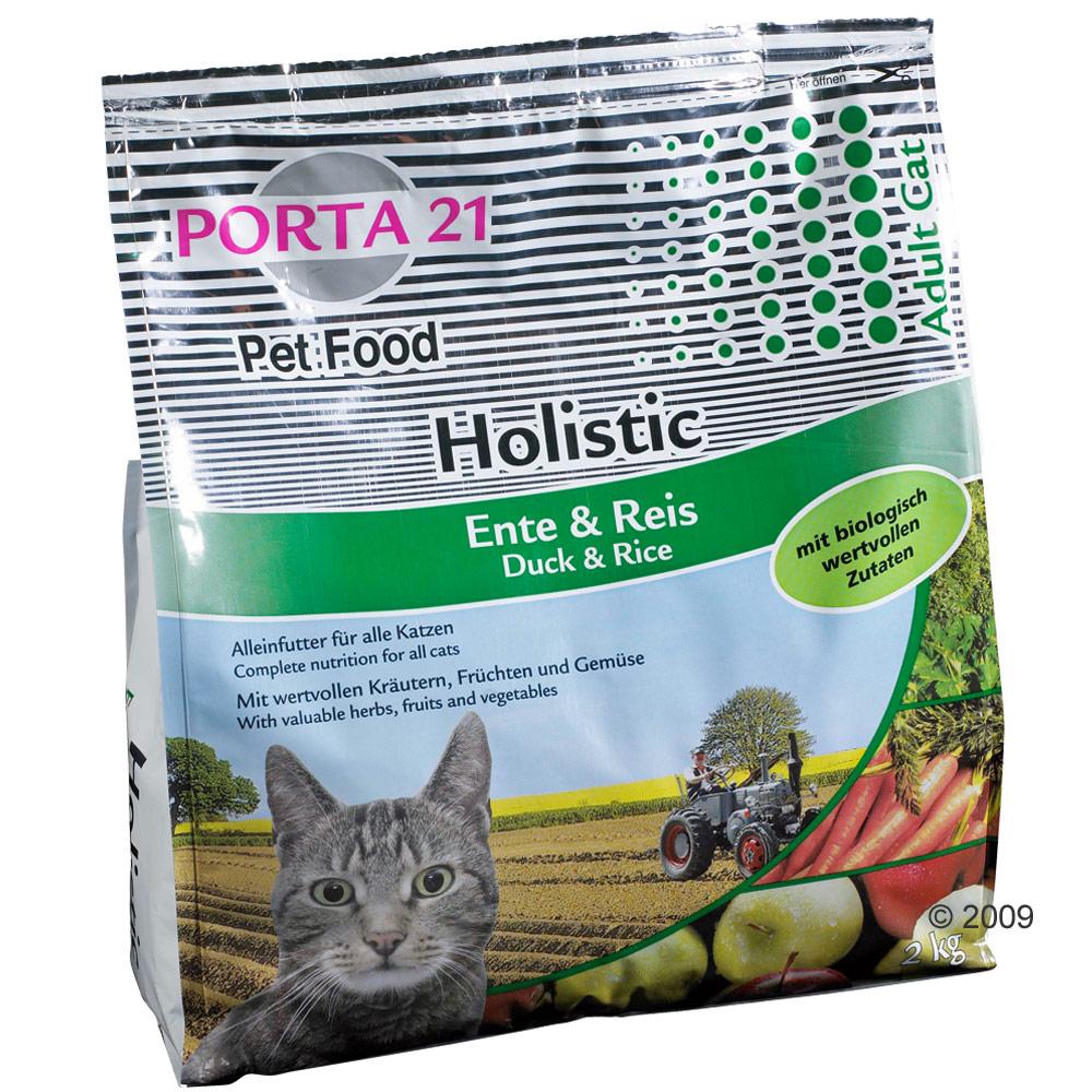porta 21 holistic cat eend & rijst     10 kg