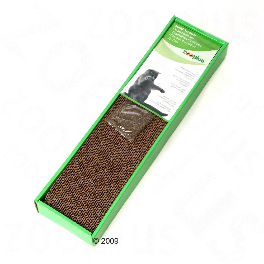 krabmat multi scratch van karton      ca. l 48 x b 12,5 x h 5,5 cm