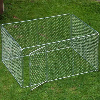 buitenren voor honden en knaagdieren     afmeting: l 205 x b 155 x h 102 cm